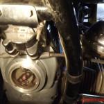 мотор - вид спереди.