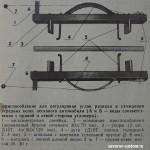 угломер для измерения углов развала и схождения колёс