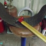 выколотка объёма крыла