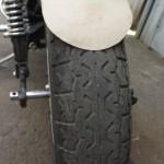 картонный шаблон крыла мотоцикла