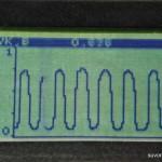 работа сканера в режиме осциллографа
