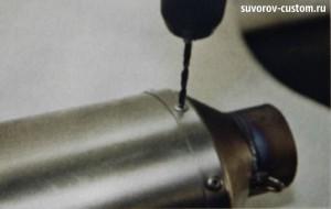 как отремонтировать прямоточный глушитель