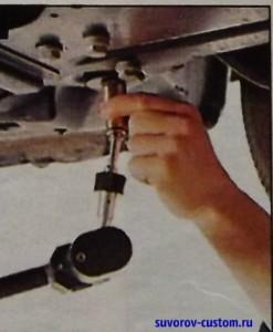 измерительный щуп рихтовочного стенда