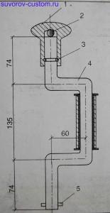 коловорот для притирки клапанов