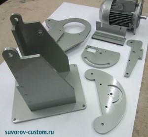 Основание гриндера и другие детали из листового металла