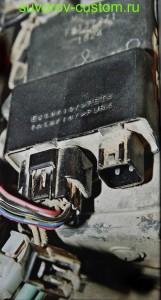 Блок управления импортным карбюраторным двигателем.