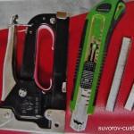 Инструмент для замены обшивки сиденья