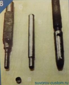 Инструмент для запрессовки новой заглушки коленвала.