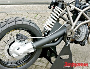 Задний мост импортного мотоцикла