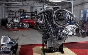 Мотор всегда должен блестеть.