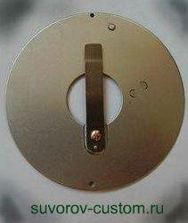 Пластинчатый клапан вязкомуфты.