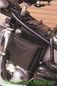 Масляный бак мотоцикла Харлей Девидсон