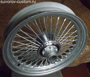 Готовое колесо на 60 спиц.