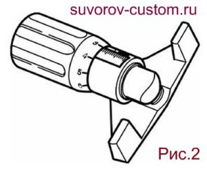 Приспособление для натяжки ремня VW210.