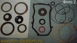 Ремкомплект прокладок и сальников для АКП.