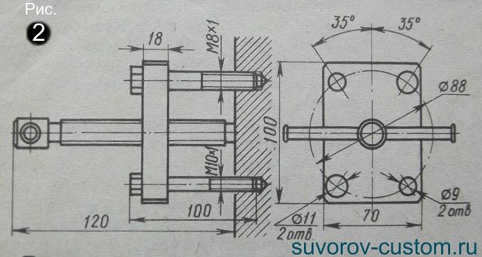 Как сделать съемник для магнето