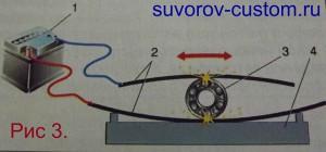 Подключение самодельной установки для наплавки подшипников.