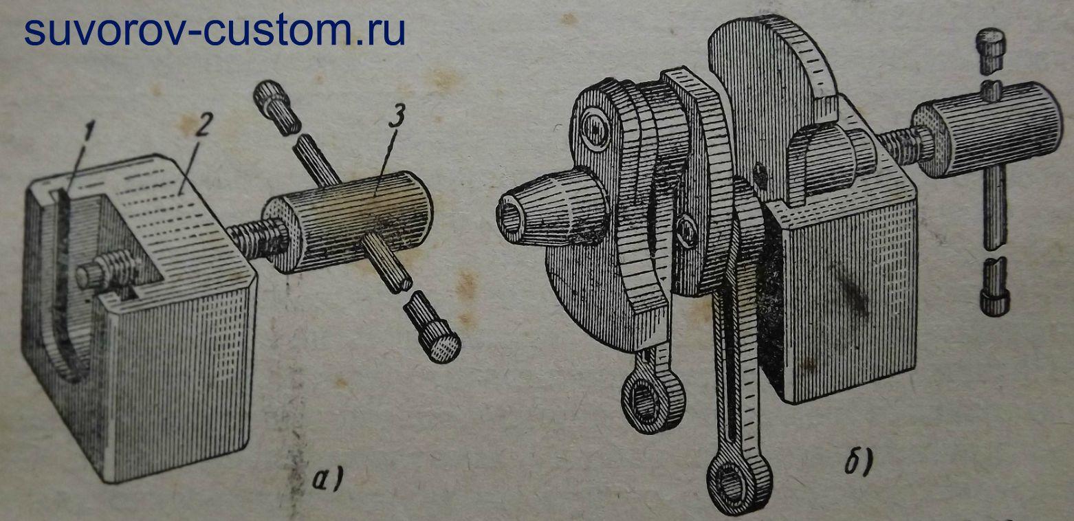 съемника Мотоцикл Урал #5