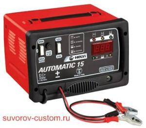 Зарядное устройство с цифровым вольтмертром и амперметром.