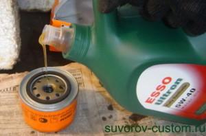 как поменять масло и фильтр на машине