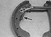 Замена задних колодок