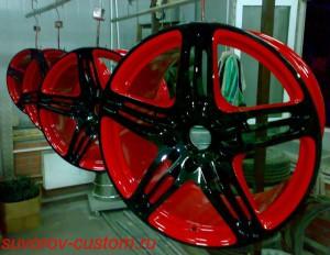 Покраска дисков , реставрация дисков