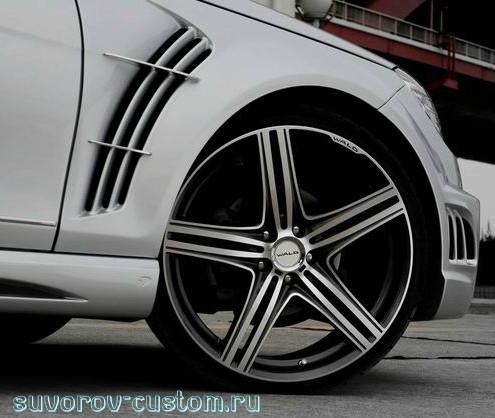 широкие колёса
