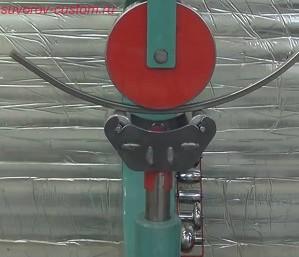 Трубогибная насадка под английское колесо.