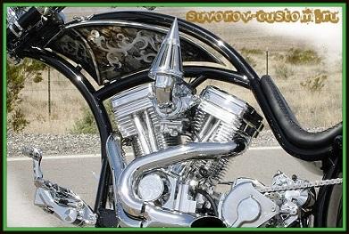 Чоппер и двигатель для него