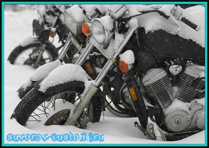 консервация мотоцикла