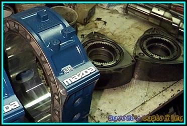 роторно поршневой двигатель Мазда