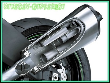 как сделать глушитель для мотоцикла
