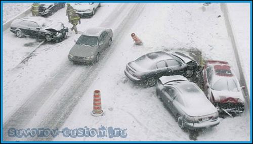 Как ездить зимой