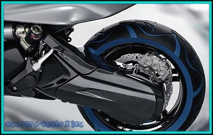 Как покрасить, или перекрасить скутер своими руками - probenzo.com.ua | 266x418