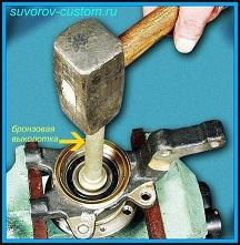 Замена ступицы