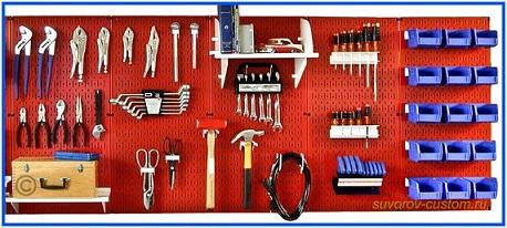 Оборудуем мастерскую в гараже своими руками 35
