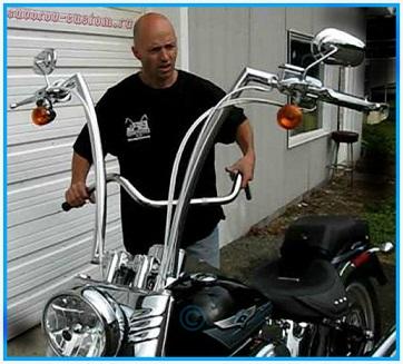 Руль для мотоцикла