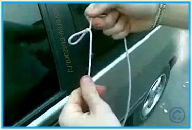 Kaк открыть двери машины без ключа