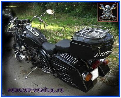Мой мотоцикл Днепр после навески кофров