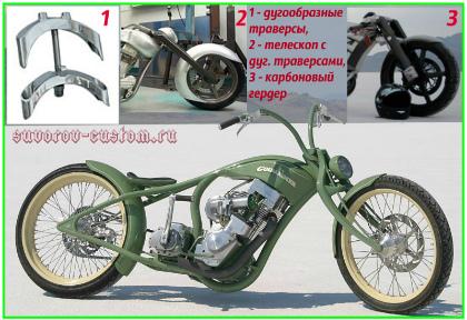 передняя вилка мотоцикла