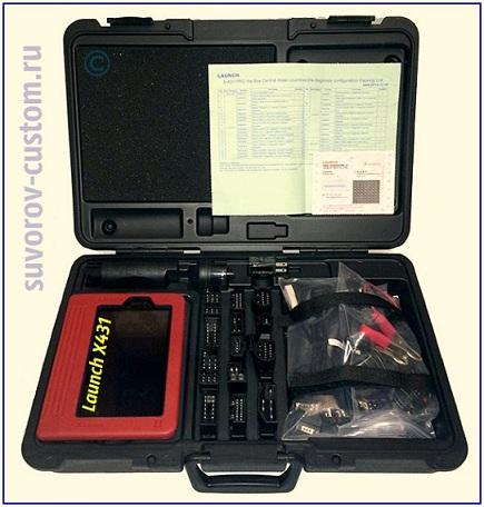 сканер для диагностики launchx 431